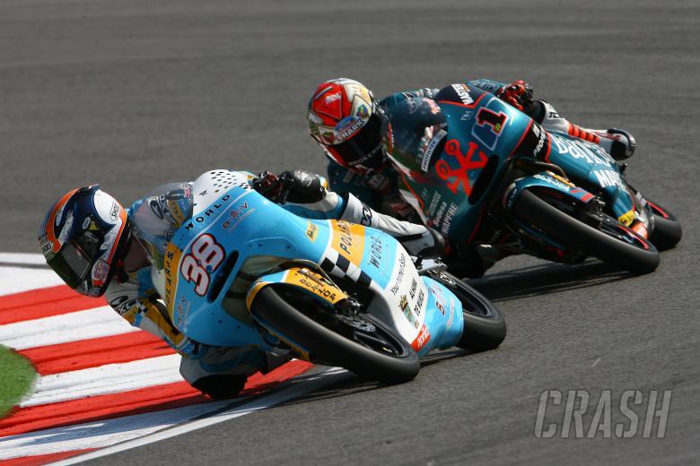 Smith, Talmacsi, San Marino 125GP Race 2008