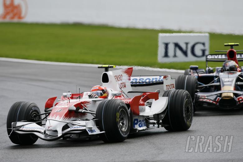 Timo Glock (GER) Toyota TF108, Belgian F1 Grand Prix, Spa Francorchamps, 5-7th, September, 2008