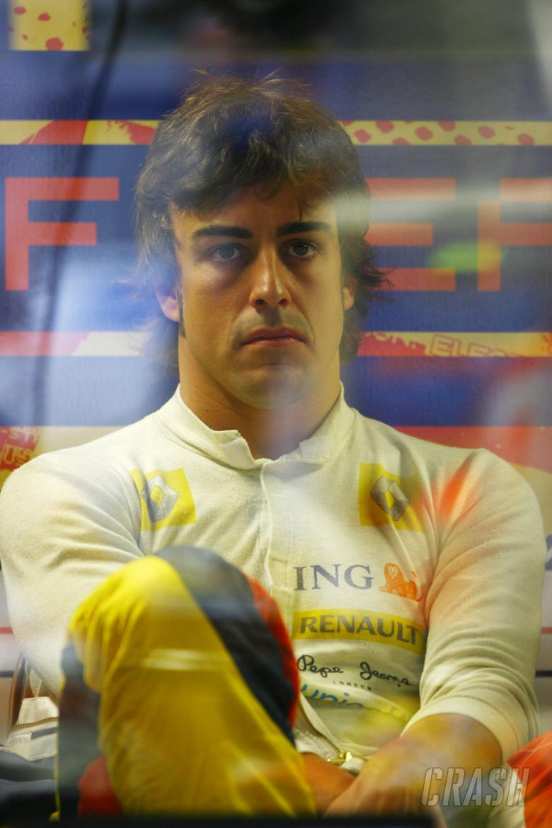 Fernando Alonso (ESP) Renault R28, Italian F1 Grand Prix, Monza, 12th-14th, September, 2008