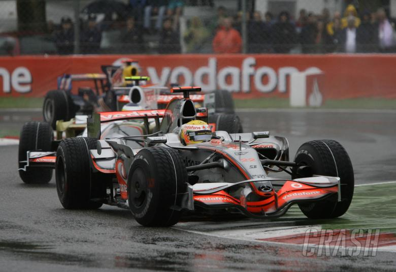 Lewis Hamilton (GBR) McLaren MP4-23, Italian F1 Grand Prix, Monza, 12th-14th, September, 2008