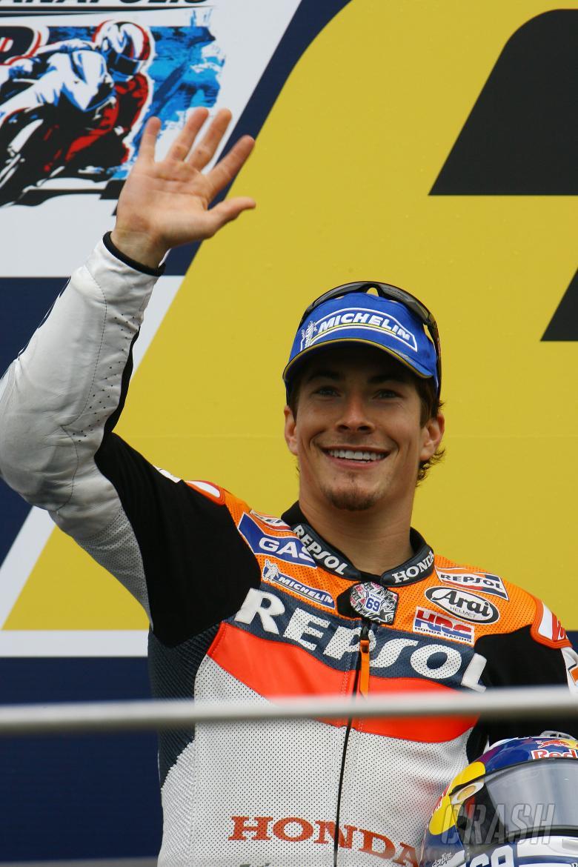 Hayden, Indianapolis MotoGP Race 2008