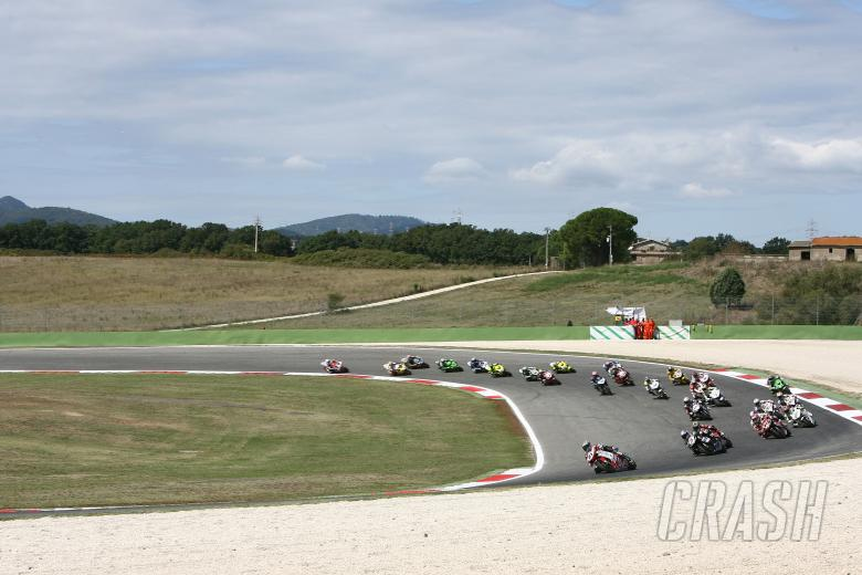 ,  - Bayliss, Race Start, Vallelunga WSBK Race 1 2008