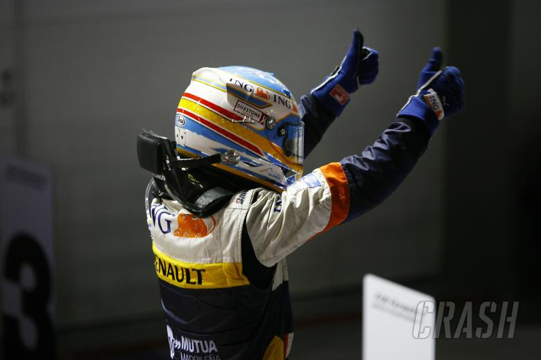 ,  - Fernando Alonso (ESP) Renault R28, Singapore F1 Grand Prix, 26th-28th, September 2008