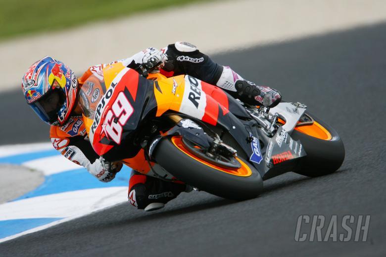 Hayden, Australian MotoGP 2008