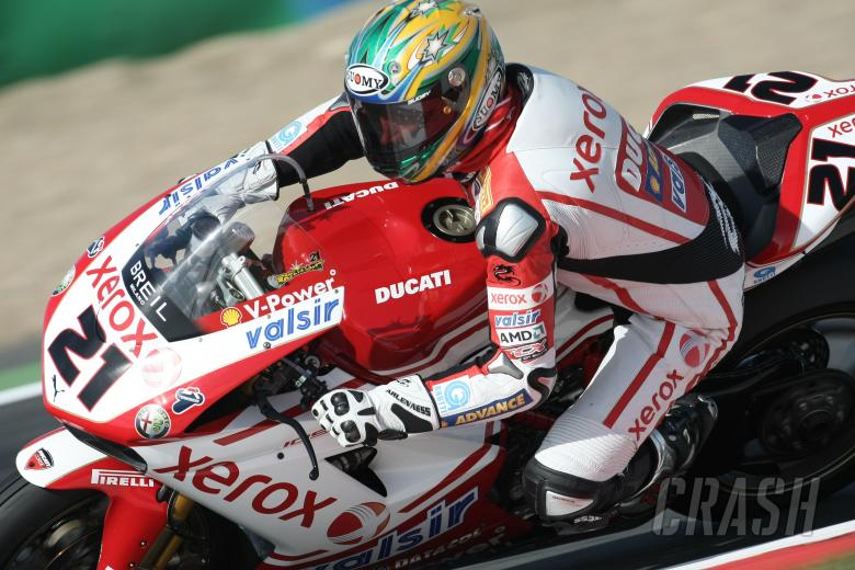 , , Bayliss, French WSBK 2008