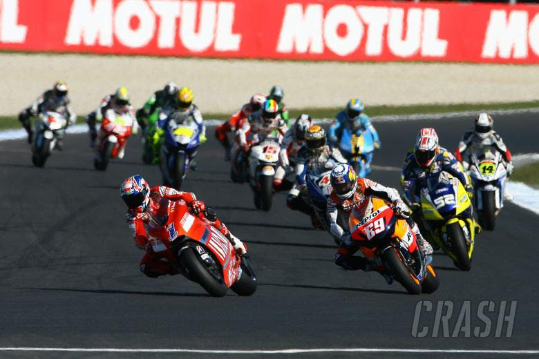 Stoner, Australian MotoGP Race 2008