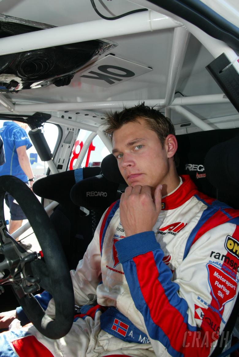 Andreas Mikkelsen (N) Ford Focus WRC 07, RAMSPORT