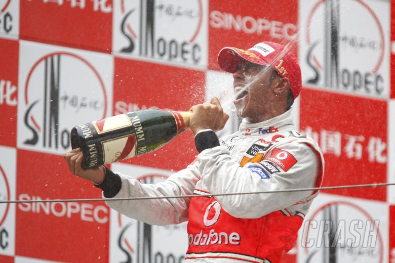 Lewis Hamilton (GBR) McLaren MP4-23, Chinese F1 Grand Prix, Shanghai, 17th-19th October 2008