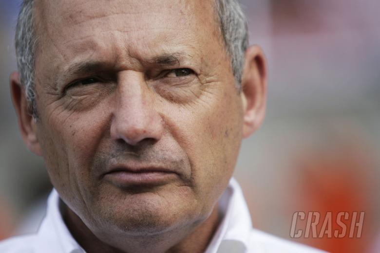Ron Dennis (GBR) McLaren Team Principal, Chinese F1 Grand Prix, Shanghai, 17th-19th October 2008