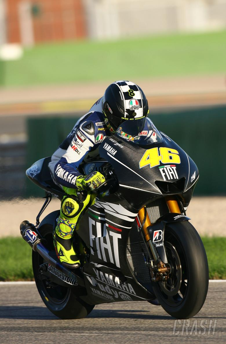 Rossi, Valencia MotoGP Tests 2008