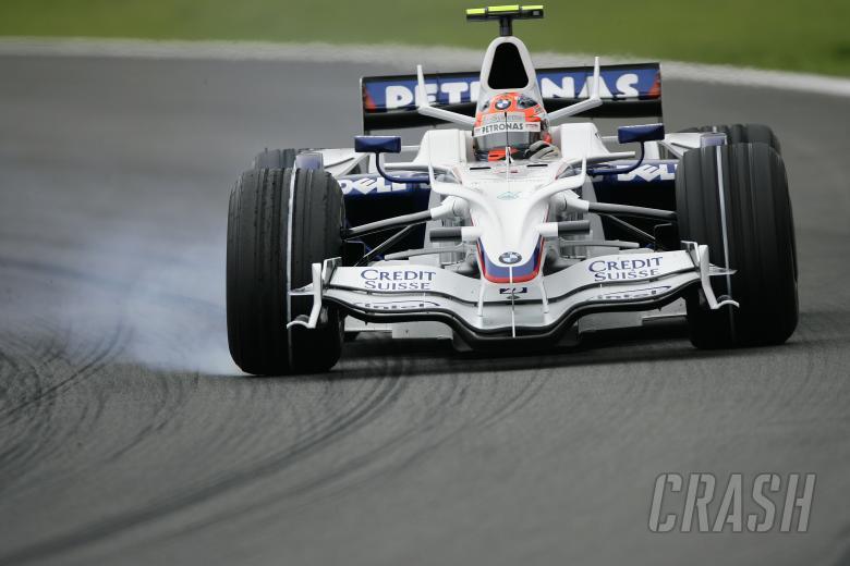 Robert Kubica (POL) BMW Sauber.F1.08, Brazilian F1 Grand Prix, Interlagos, 30th October 2008-2nd, No