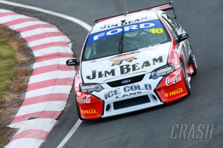 ,  - Will Davison, (aust), Jim Beam  DJR Ford    Falken Tasmania Challenge Rd 13 V8 Supercars Symmon