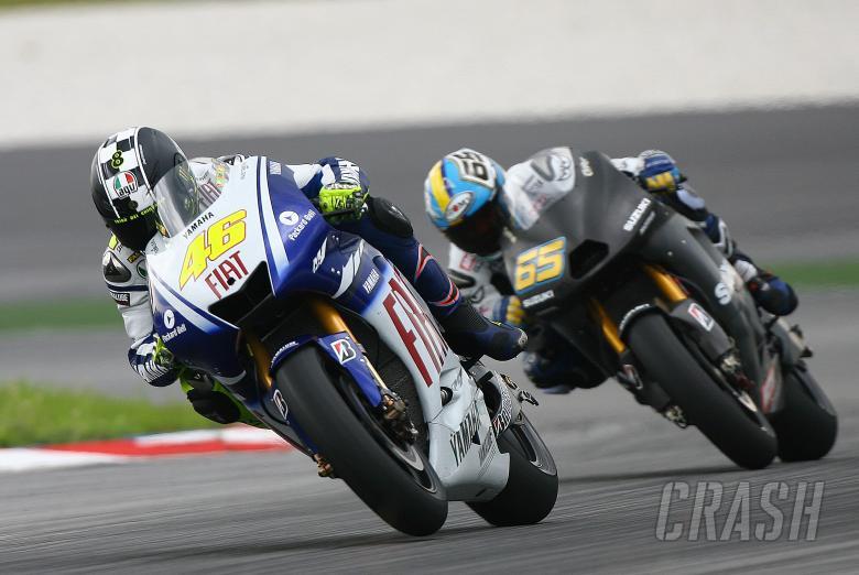 Rossi and Capirossi, Sepang MotoGP tests, 2009