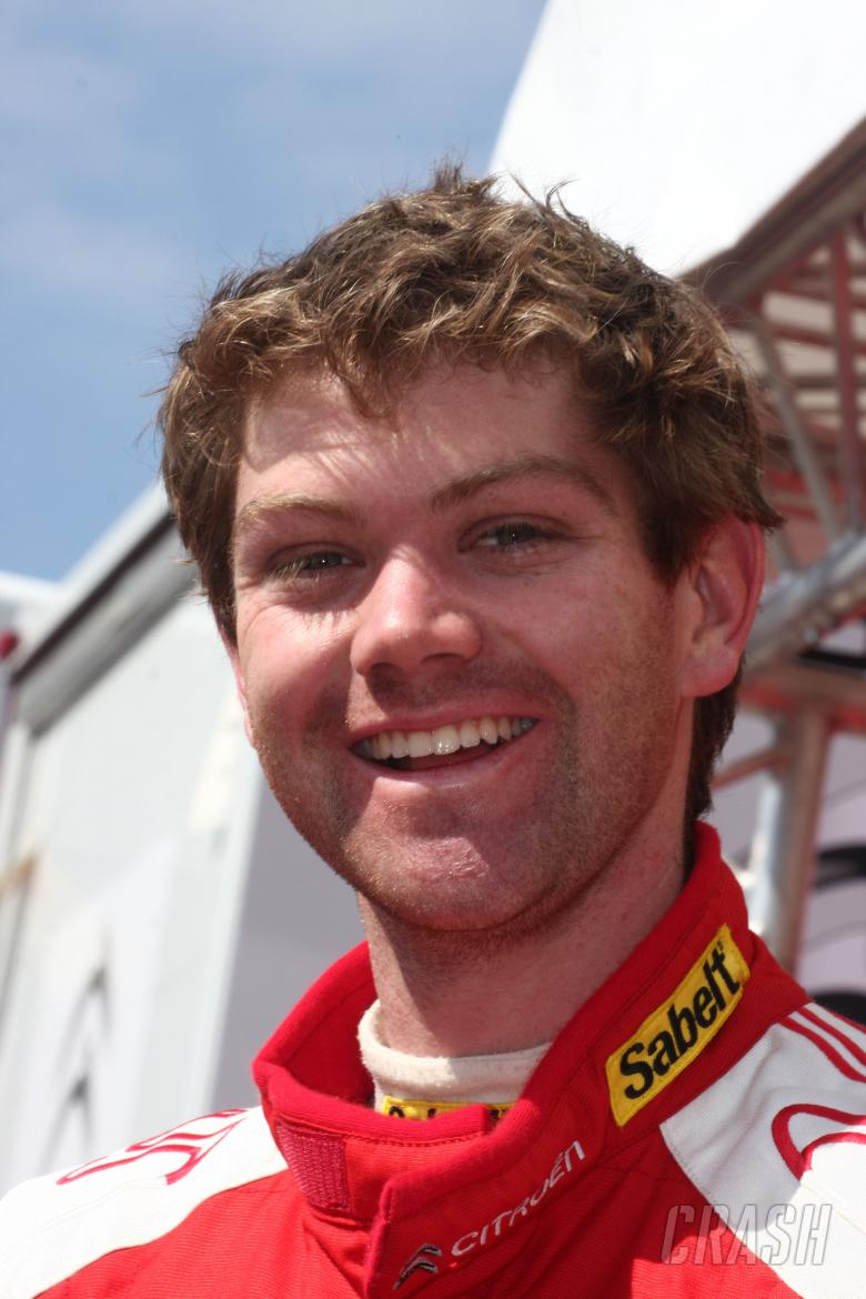 Conrad Rautenbach (ZW), Citroën C4 WRC, Citroen Junior Team