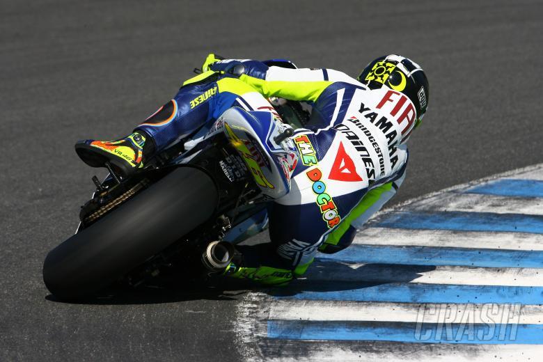 Rossi, Jerez MotoGP Test 2009