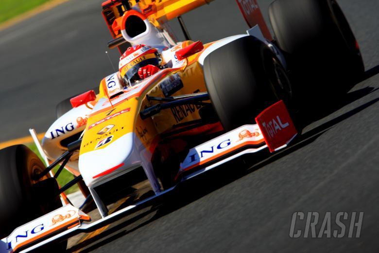 Fernando Alonso (Spa) Renault R29ING Australian Formula 1 Grand PrixRd 1 World F1 Championsh