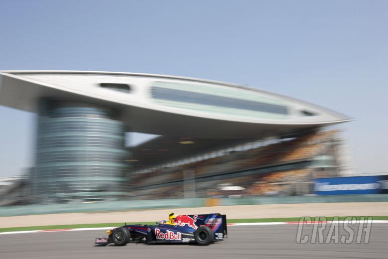 Sebastian Vettel (GER) Red Bull RB5, Chinese F1 Grand Prix, Shanghai, 17th-19th, April 2009
