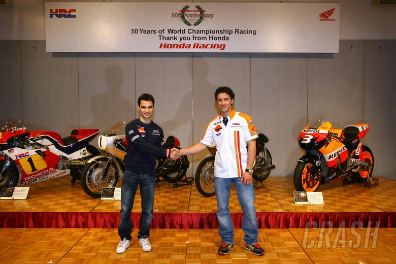 Pedrosa and Dovizioso, Japanese MotoGP 2009