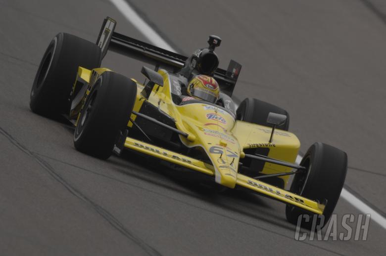 Indy Racing League.  25-26 April 2009. Kansas Speedway, Kansas, Missouri USA Sarah Fisher.
