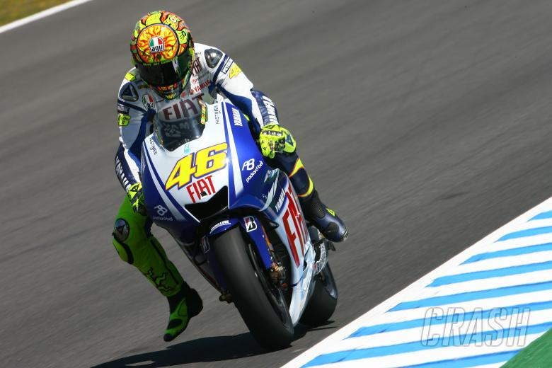 Rossi, Spanish MotoGP 2009