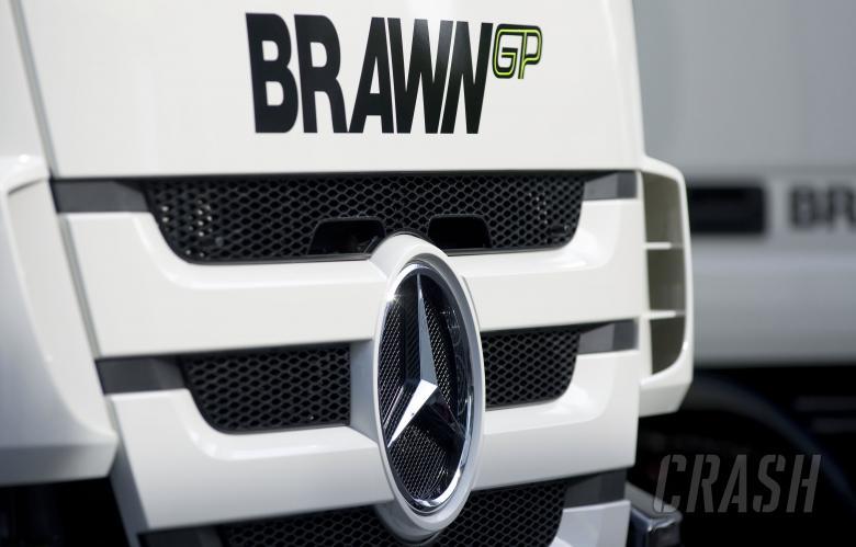 BrawnGP Truck, Spanish F1 Grand Prix, Catalunya, 8th-10th, May, 2009