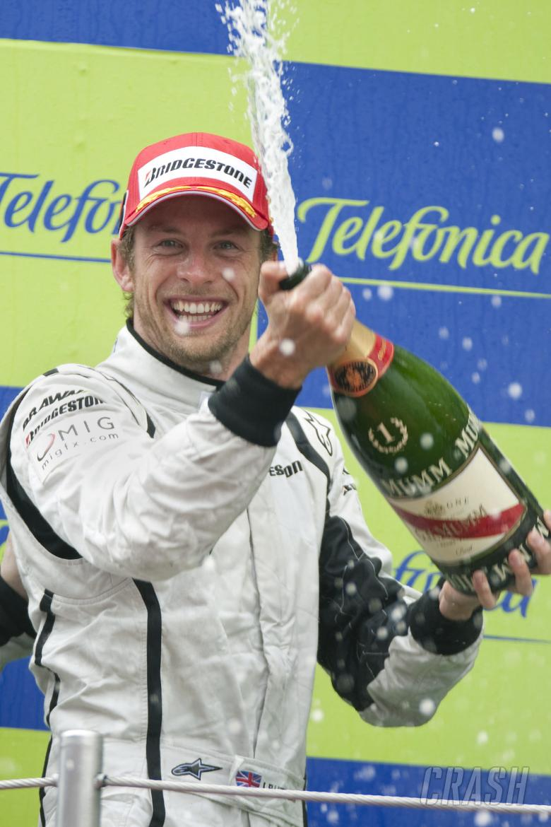 , - Jenson Button (GBR) Brawn BGP001, Spanish F1 Grand Prix, Catalunya, 8th-10th, May, 2009