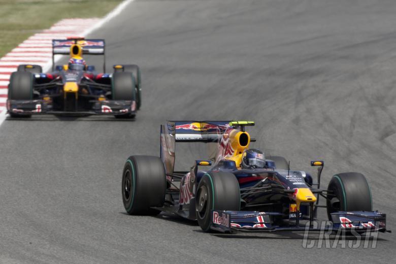 Sebastian Vettel (GER) Red Bull RB5, Mark Webber (AUS) Red Bull RB5, Spanish F1 Grand Prix, Cataluny