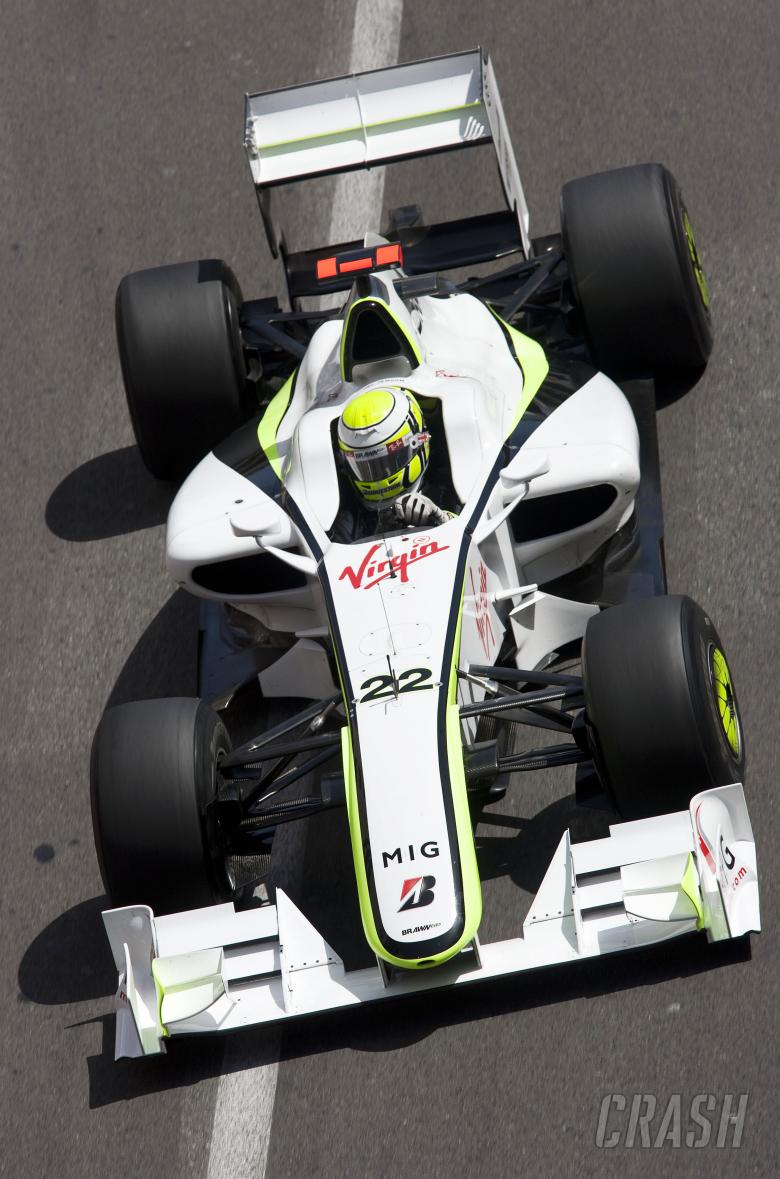 Jenson Button (GBR) Brawn BGP001, Monaco F1 Grand Prix, 21st-24th, May 2009