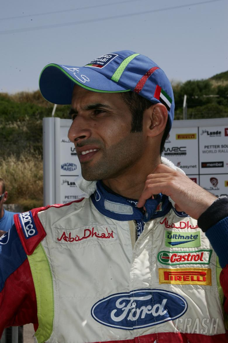 Khalid Al Qassimi (UAE) Ford Focus Rs Wrc - BP Ford Abudhabi Wrt