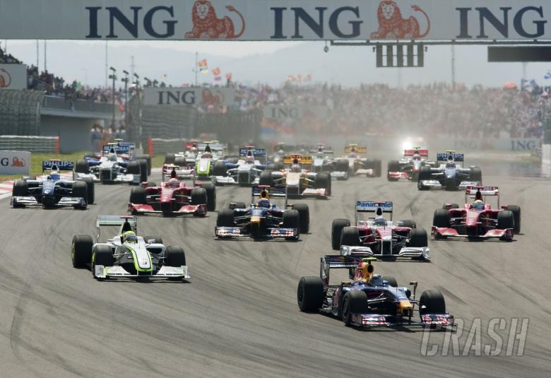 Start, Turkish F1, Istanbul Park, 5th-7th June, 2009