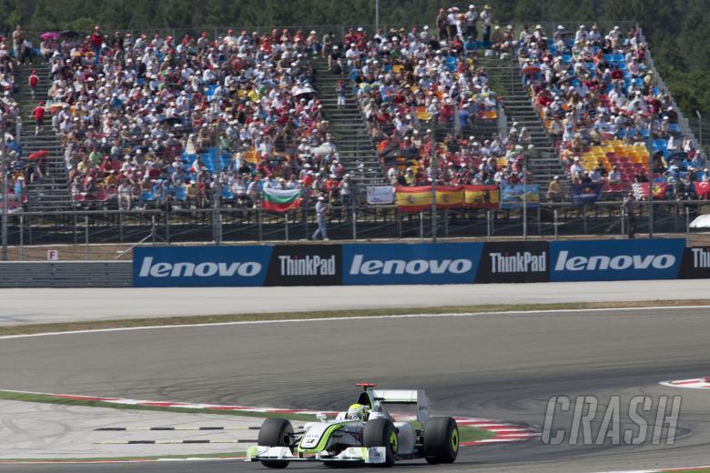 Jenson Button (GBR) Brawn BGP001, Turkish F1, Istanbul Park, 5th-7th June, 2009