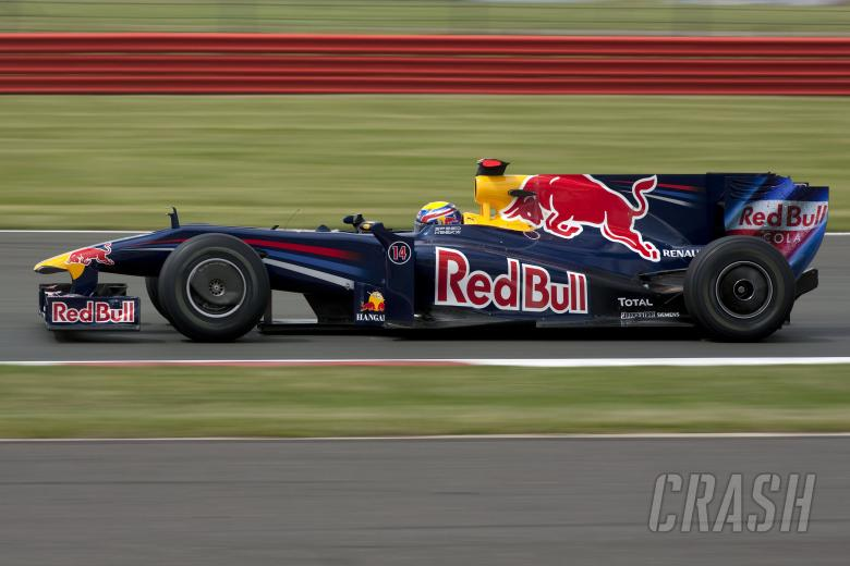 Mark Webber (AUS) Red Bull RB5, British F1, Silverstone, 19th-21st, June, 2009