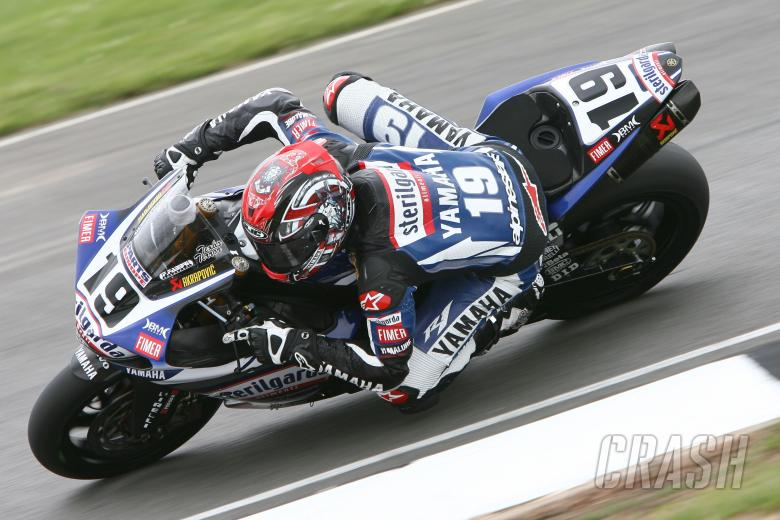 Spies, British WSBK 2009