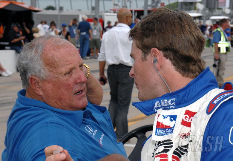 Indy Racing League. 20-21 June 2009. Iowa Corn 250.  Iowa Speedway. Newton, Iowa USA. A.J. Foyt and