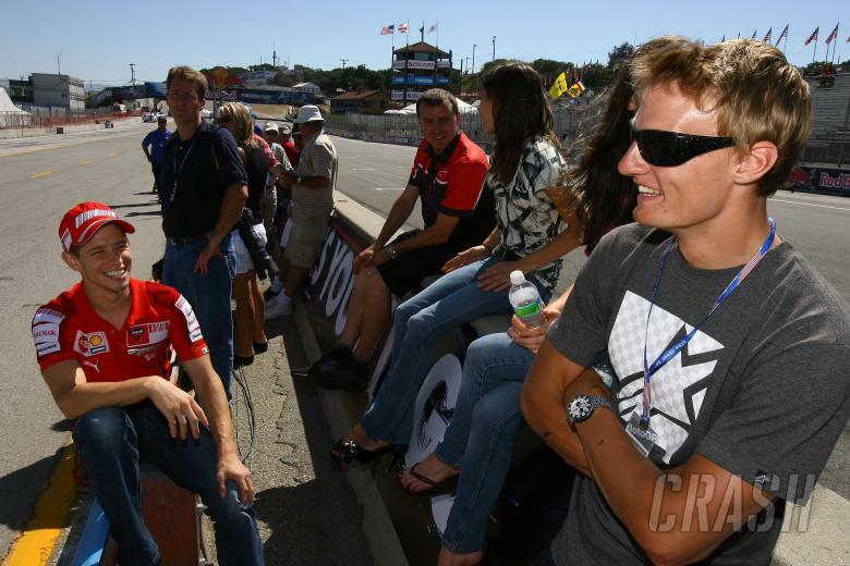 , , Stoner and Davies, USA MotoGP 2009