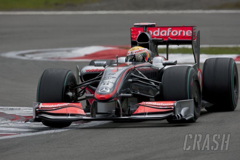 Lewis Hamilton (GBR) McLaren MP4-24, German F1 Grand Prix, Nurburgring, 10-12th, July 2009