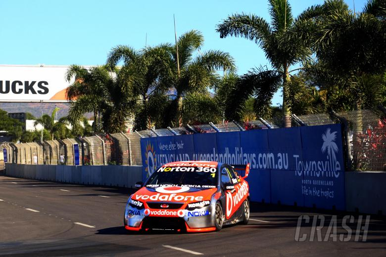 , Jamie Whincup, (aust) Team Vodafone 888 Ford  Races 11 & 12 V8 Supercars The Dunlop Townsville 40