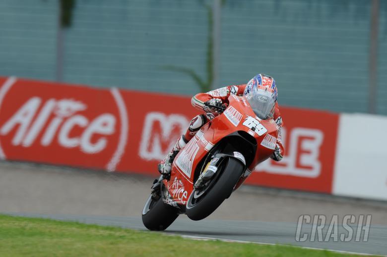 Hayden, German MotoGP 2009