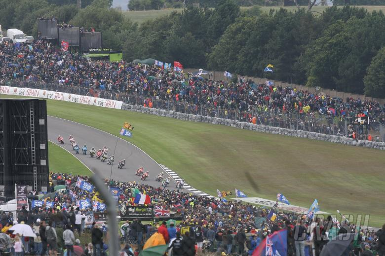 Race Action, British MotoGP Race 2009