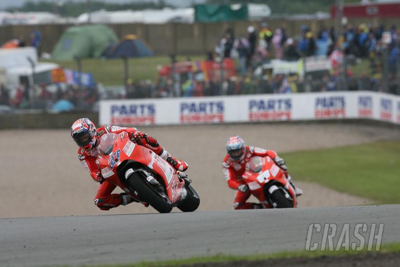 Stoner, British MotoGP Race 2009