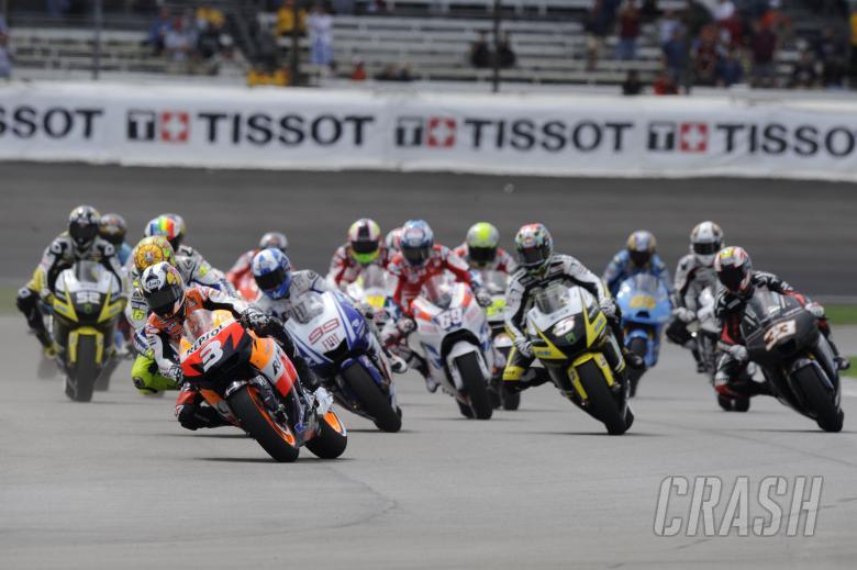 Start, Indianapolis MotoGP Race 2009