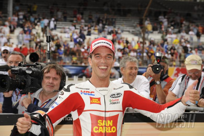 De Angelis, Indianapolis MotoGP Race 2009
