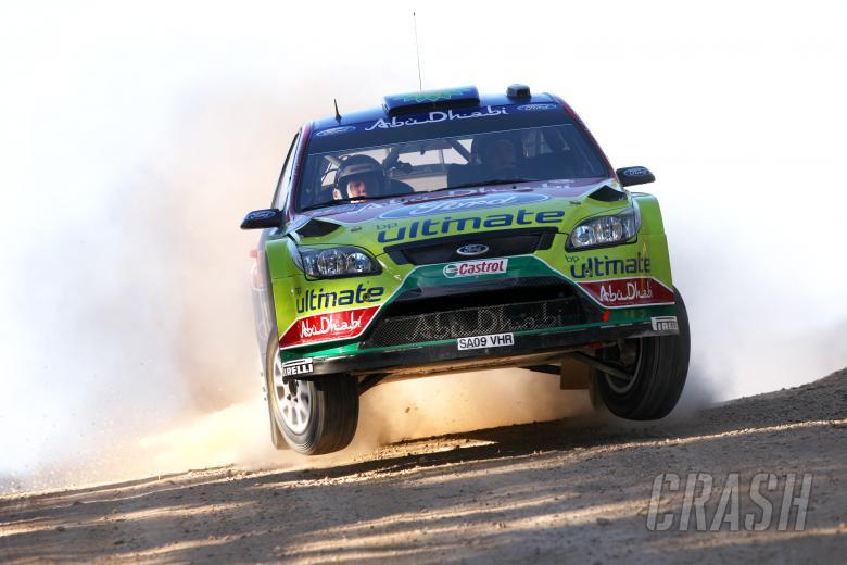 , , Mikko Hirvonen (FIN) Jarmo Lehtinen(FIN) Ford Focus RS WRC09, BP Ford Abu Dhabi World Rally Team