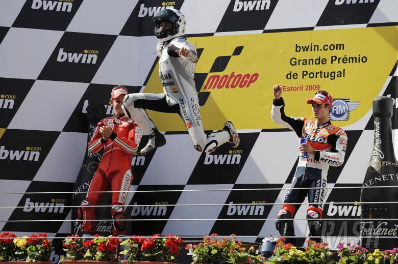 Lorenzo, Portuguese MotoGP Race 2009