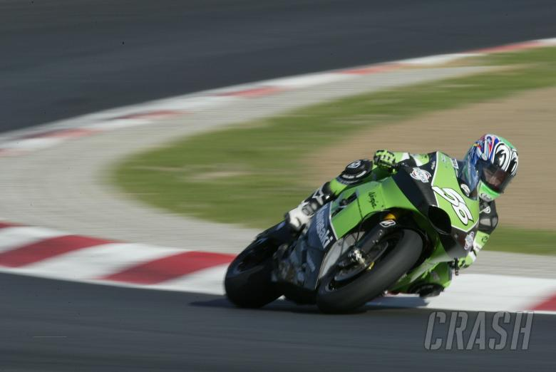 Nakano, Barcelona MotoGP IRTA tests, March 2005