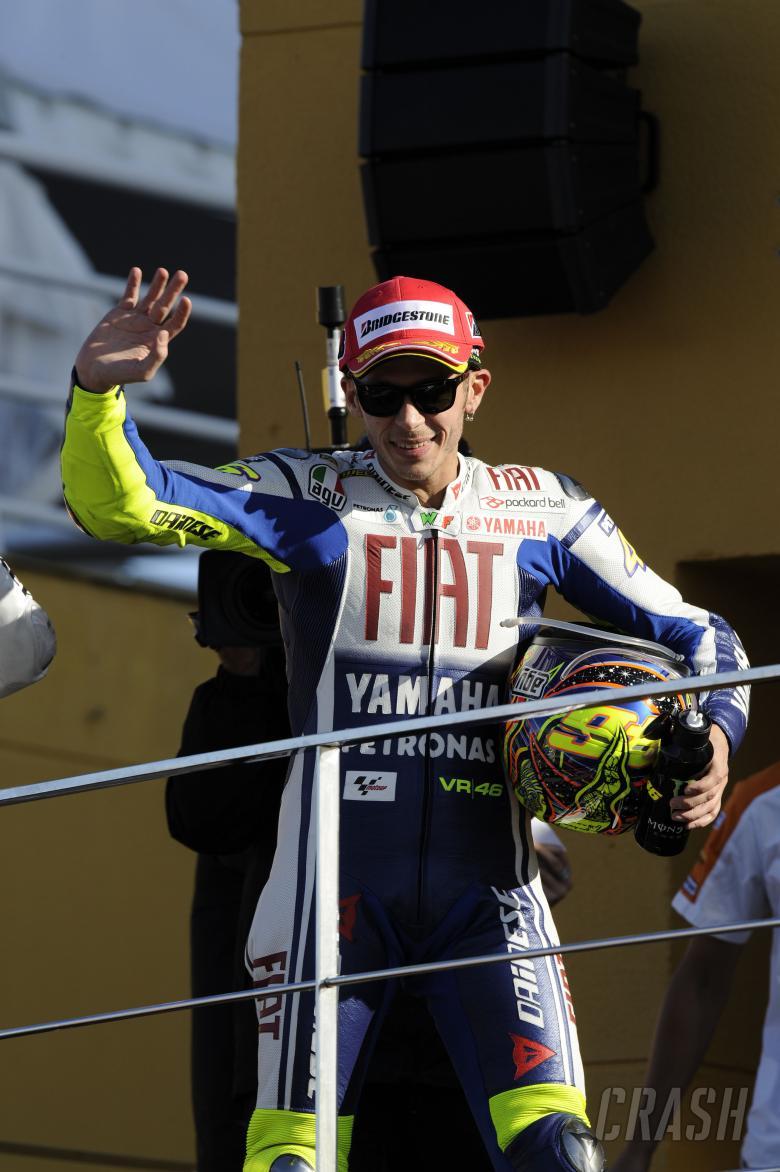 Rossi, Valencia MotoGP Race 2009