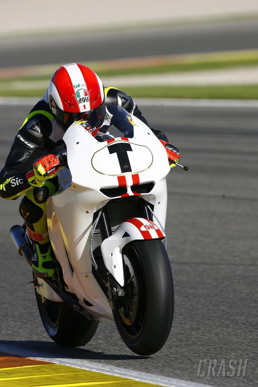 Simoncelli, Valencia MotoGP Test, 2009