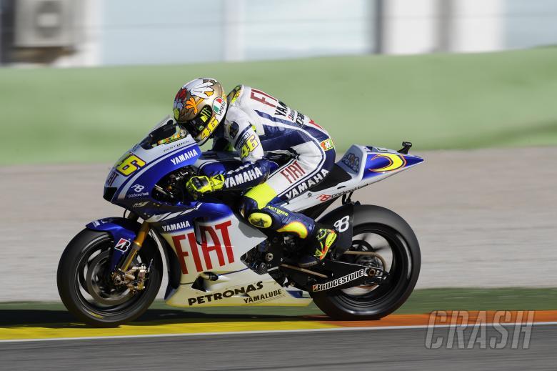 Rossi, Valencia MotoGP Test 2009