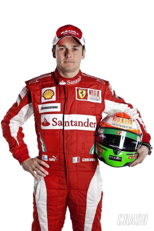 ,  - 28.01.2010 Maranello, Italy, Giancarlo Fisichella (ITA), Test Driver, Scuderia Ferrari - Launch of t