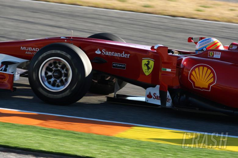 , - 03.02.2010 Valencia, Spain, Fernando Alonso (ESP), Scuderia Ferrari, F10 - Formula 1 Testing, Valenc